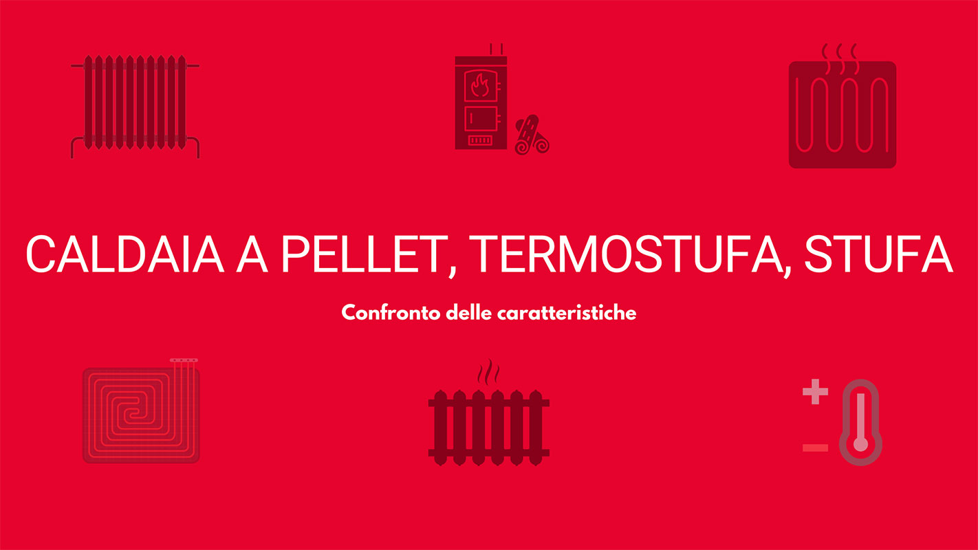 Differenza tra caldaie a pellet, termostufe e stufe | Tatano